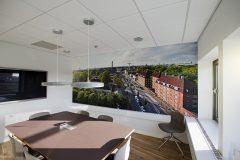 finsk lamp, Auara, filt lampe, møderum, kontor, hay stol, fotostal, konferrencebord, pendle, mødelokale, arkitekt, dansk design, danish design, scandinavian design, lysindfald
